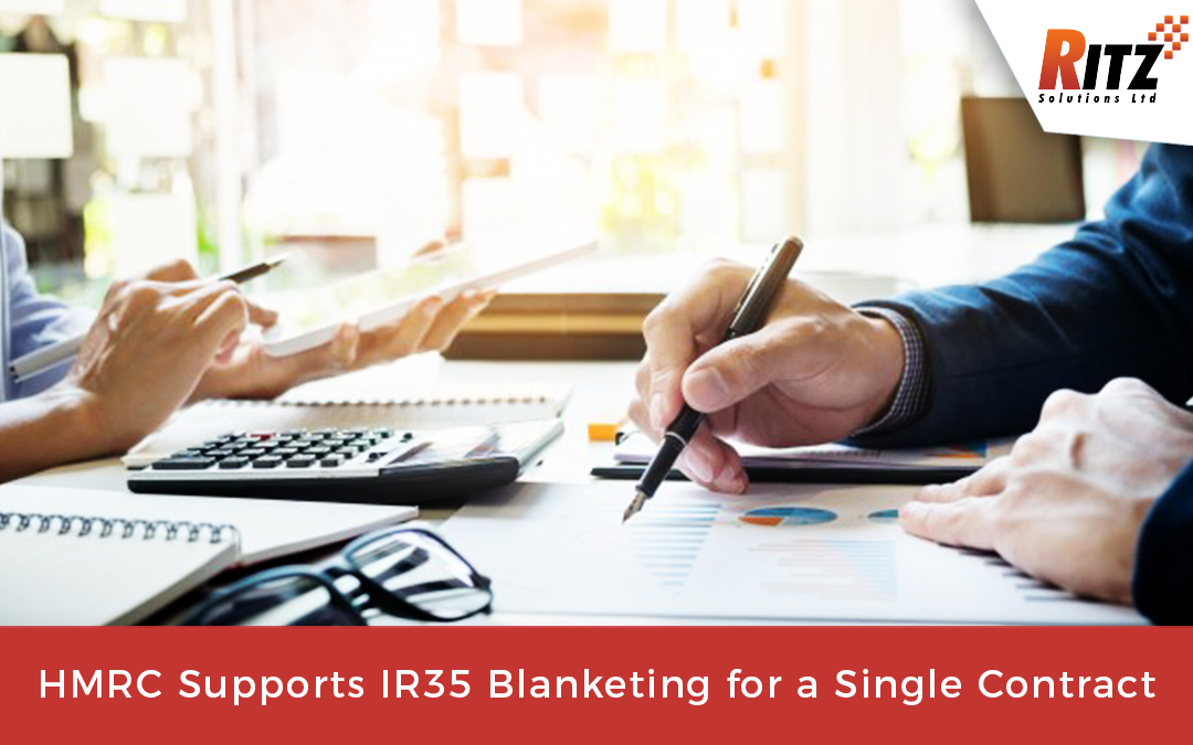 HMRC Supports IR35 Blanketing for a Single Contract