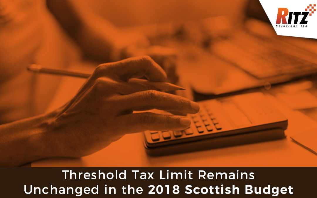 Threshold Tax Limit Remains Unchanged in the 2018 Scottish Budget