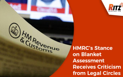 HMRC's Stance on Blanket Assessment Receives Criticism from Legal Circles