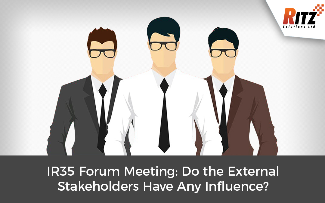 IR35 Forum Meeting: Do the External Stakeholders Have Any Influence