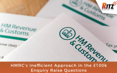 HMRC's Inefficient Approach in the £100k Enquiry Raise  Questions