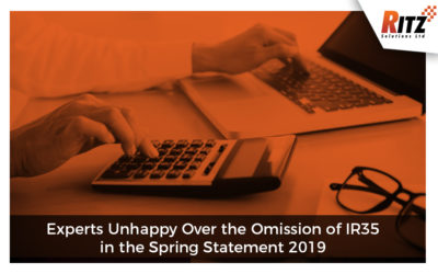 Experts Unhappy Over the Omission of IR35 in the Spring Statement 2019