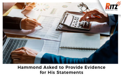 Hammond Asked to Provide Evidence for His Statements