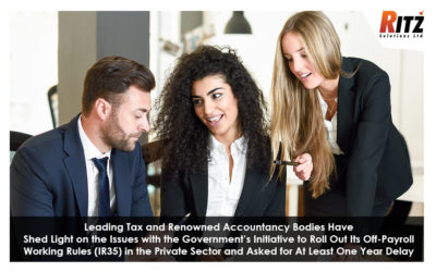 Leading Tax and Renowned Accountancy Bodies Have Shed Light on the Issues with the Government's Initiative to Roll Out Its Off-Payroll Working Rules (IR35) in the Private Sector and Asked for At Least One Year Delay