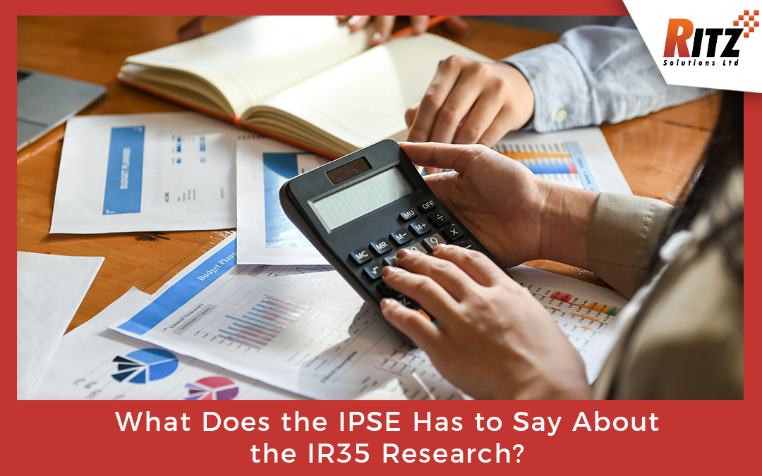 What Does the IPSE Has to Say About the IR35 Research?