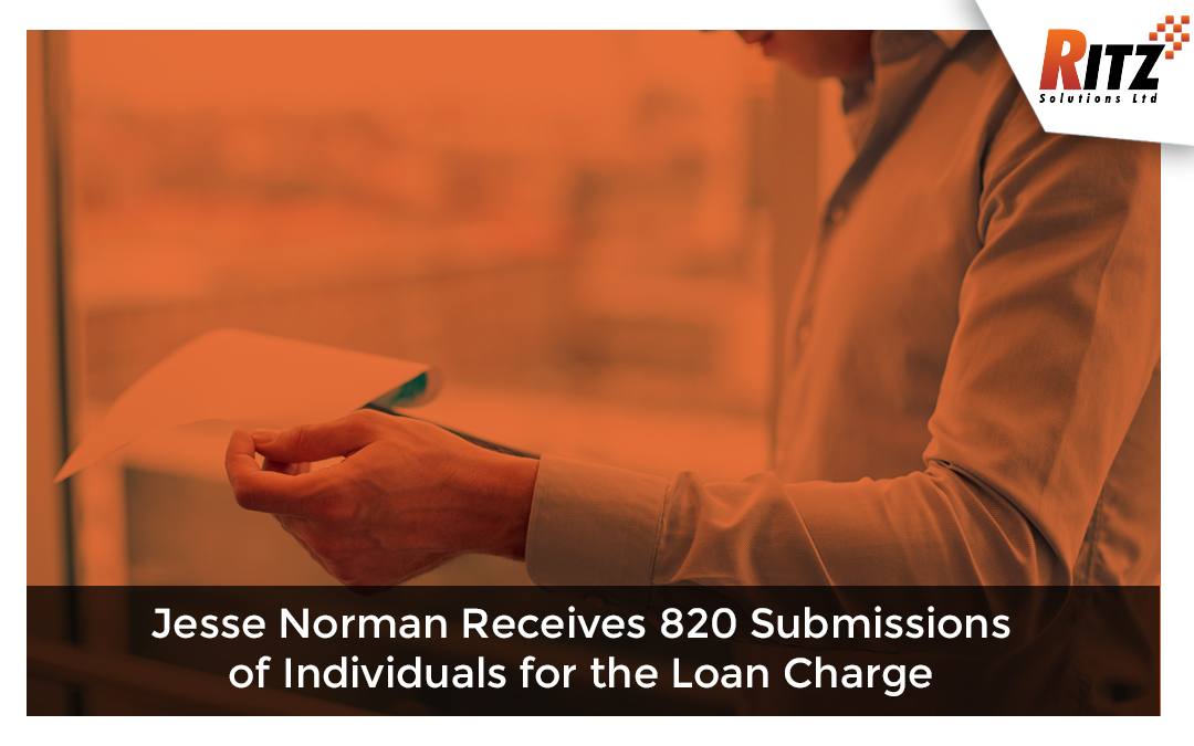Jesse Norman Receives 820 Submissions of Individuals for the Loan Charge