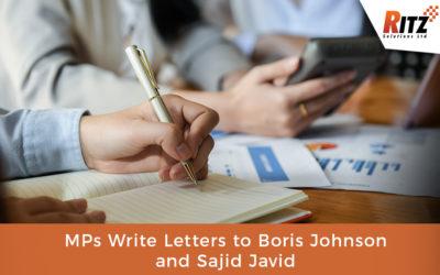 MPs Write Letters to Boris Johnson and Sajid Javid