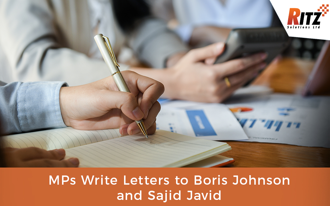 MPs Write Letters to Boris Johnson and Sajid Javid