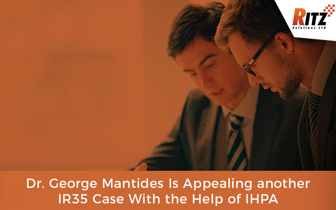 Dr. George Mantides Is Appealing another IR35 Case With the Help of IHPA